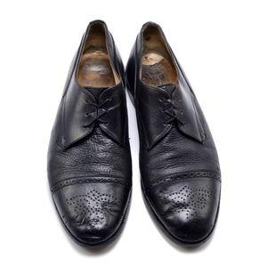 Vtg JOHNSTON & MURPHY  Cellini Leather Oxfords